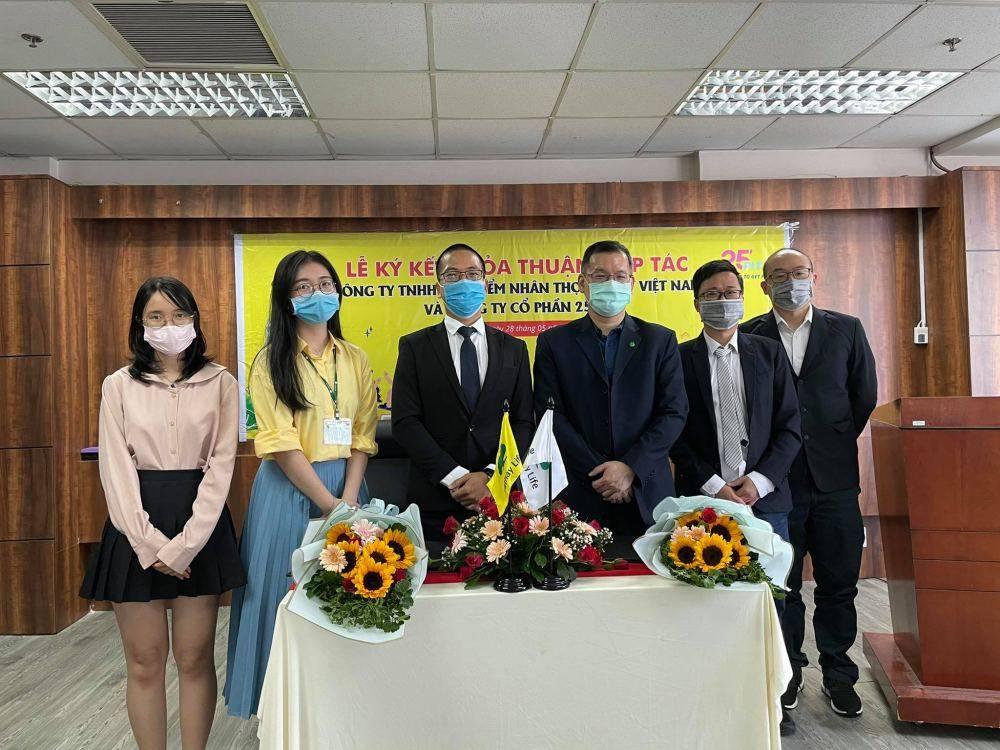 Cathay Life Việt Nam ký kết hợp tác với 25 Fit